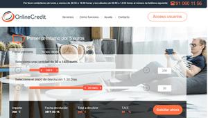 Onlinecredit: Onlinecredit: Consigue tu primer crédito rapido por sólo 5 euros.