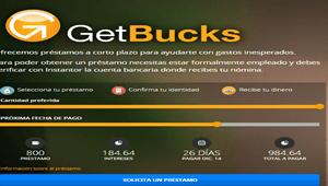 GetBucks : Microcrédito online de forma rápida y sencilla