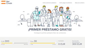Netcredit : Netcredit: Consigue tu primer préstamo libre de comisiones.
