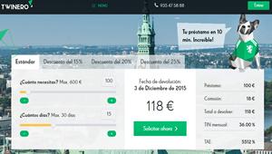 Twinero: Dinero fácil y rápido a través de Internet en pocos minutos