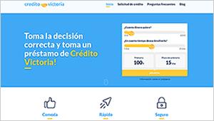 Crédito Victoria: Primer préstamo de hasta 300 euros totalmente gratis a devolver en 30 días.