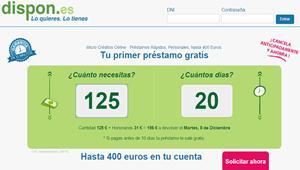 Dispón,microcréditos rápidos, online y sin papeleos